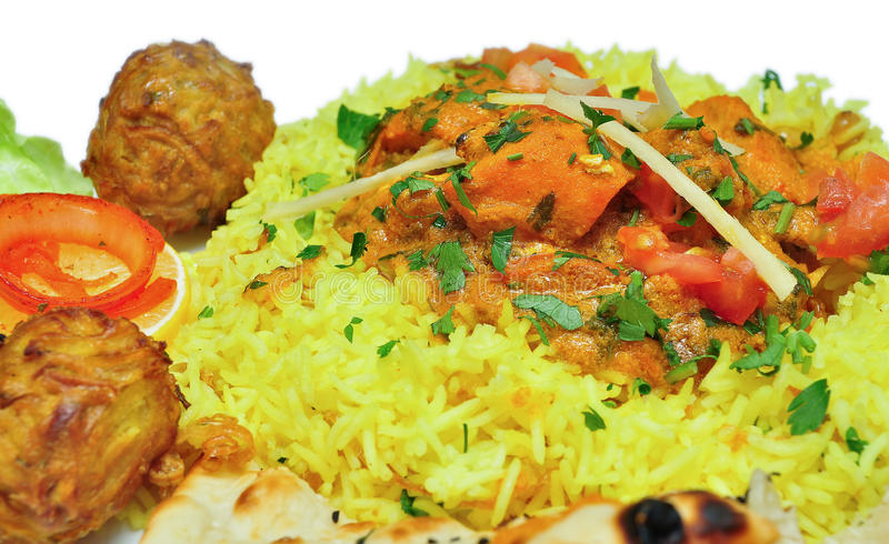 Indian Food stock photo