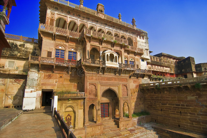 Indian Fort stock image
