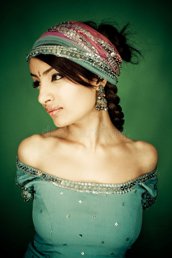 Indian girl stock images