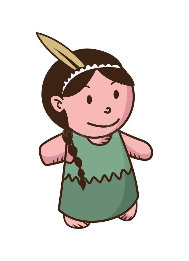 Indian Girl Cartoon Stock Illustrations 4513 Indian Girl