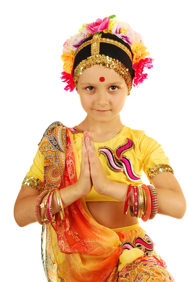 Download Indian Girl (dancer) In Inviting Posture Stock Photo - Image: 31369658