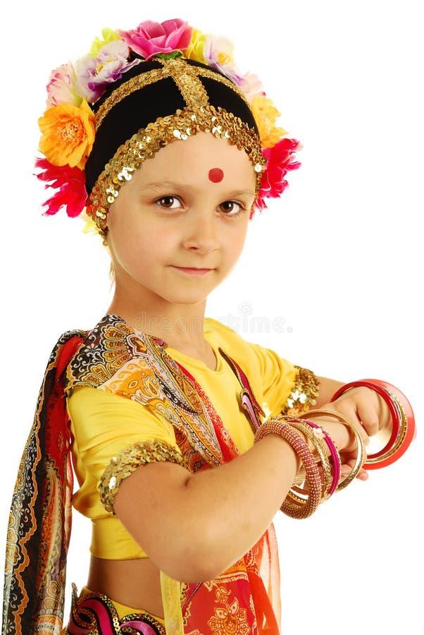 Download Indian Girl Performing Dance Stock Image - Image: 31369649