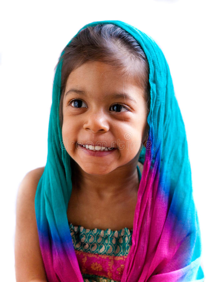 Download Indian Girl Portrait 3 Stock Images - Image: 21342414