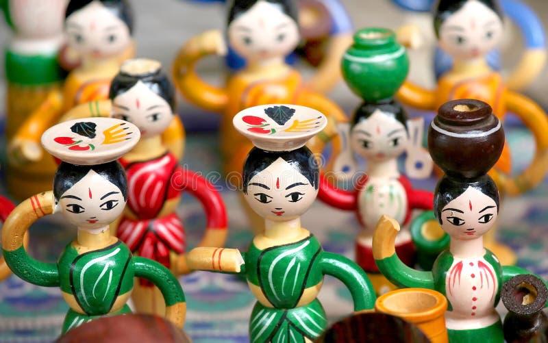 Download Indian Handicrafts stock image. Image of sculpture, religious - 6406143