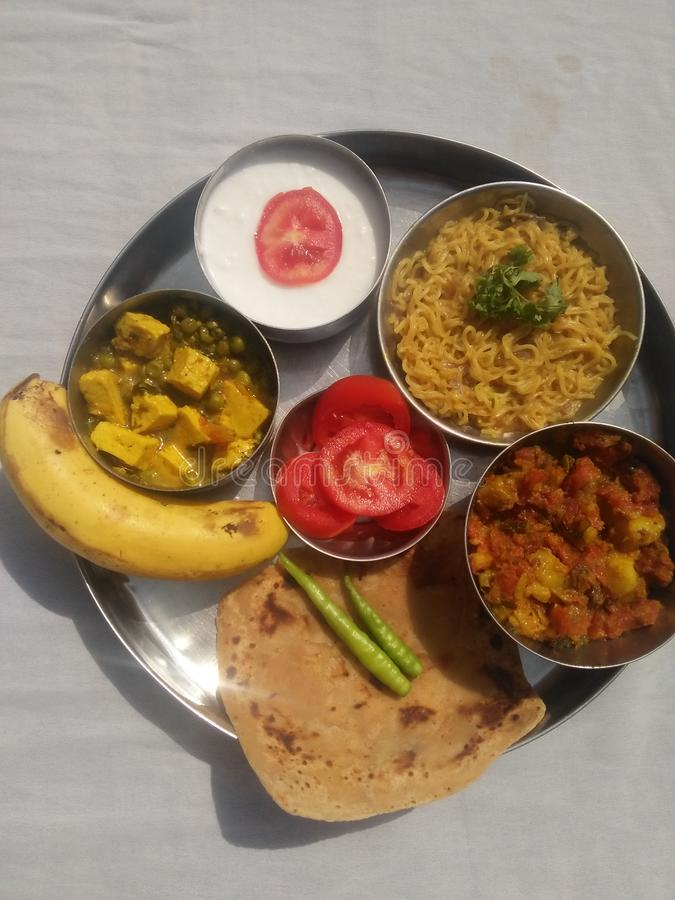 Indian healthy food stock photography