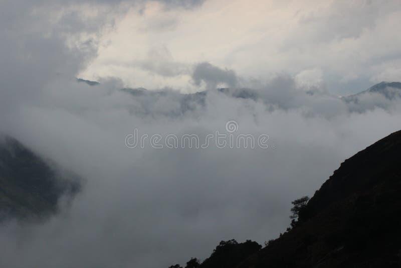 Indian Hills bonito, Munnar, Kerala, Índia fotos de stock