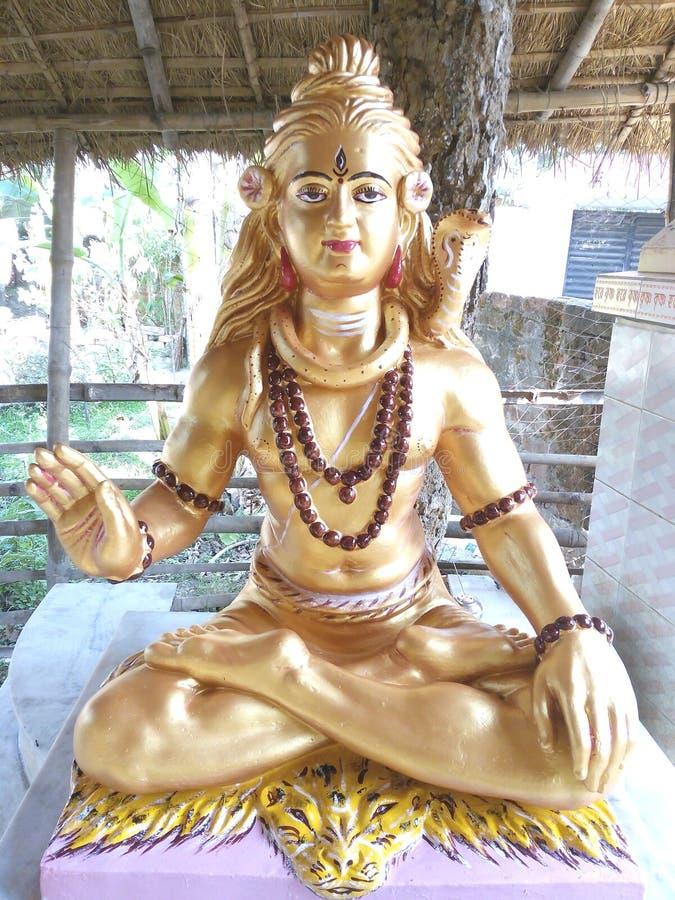 INDIAN HINDU GOD SHIV royalty free stock images
