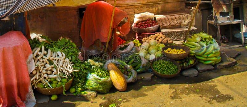 Indian Hindu Market royalty free stock image