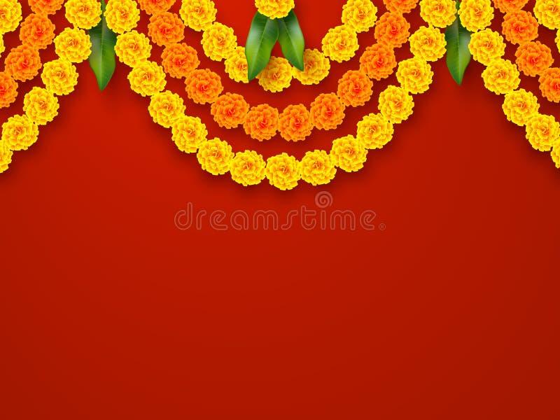 Indian holiday background. royalty free illustration