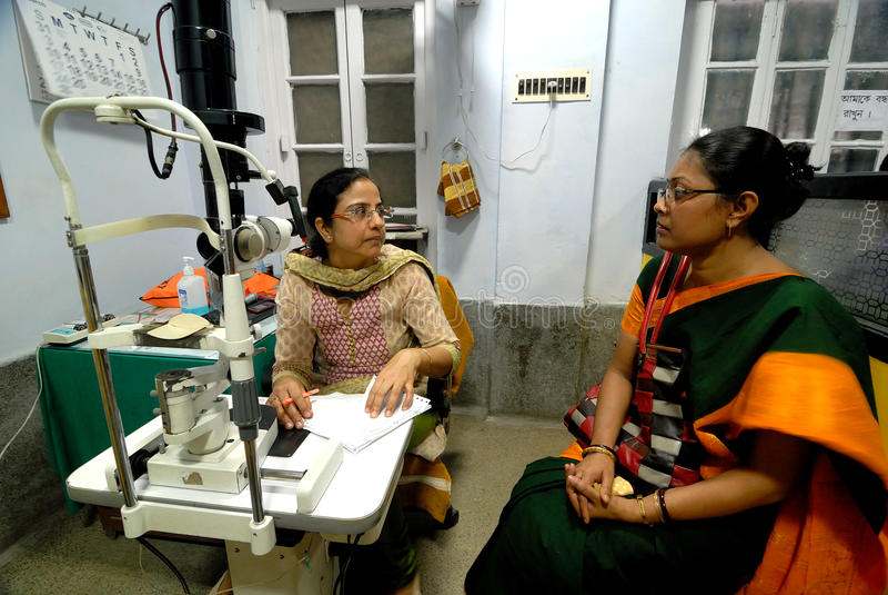 Indian Hospital royalty free stock photo