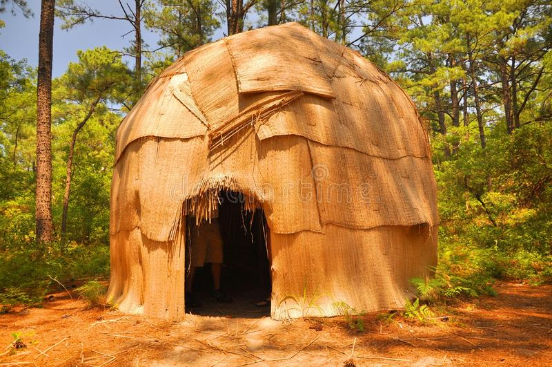 Indian hut stock photos