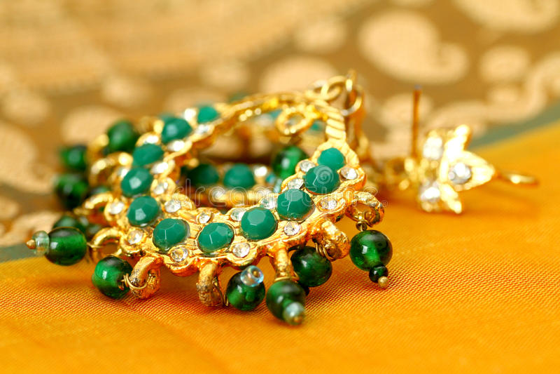 Indian Jewellery. stock photo