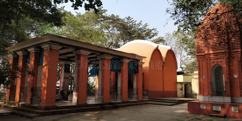 Indian krishna Tample. Indian Sri krishna Tample in West bengal. rakhal raja tample. maha mandir stock images