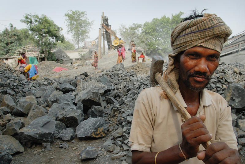 Indian Labour editorial photography. Image of bengal ...