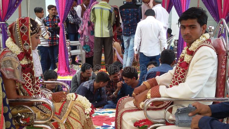 Indian Marriage royalty free stock image