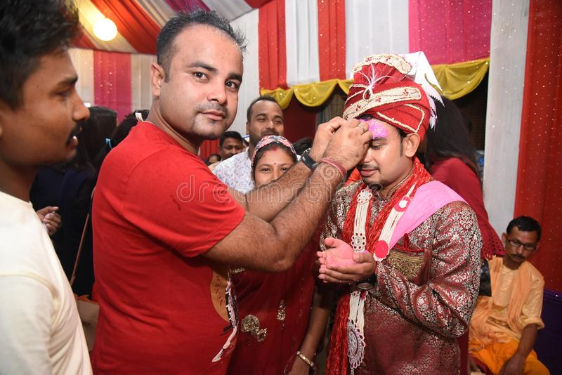 Marrige of Nepali Traditional royalty free stock photo