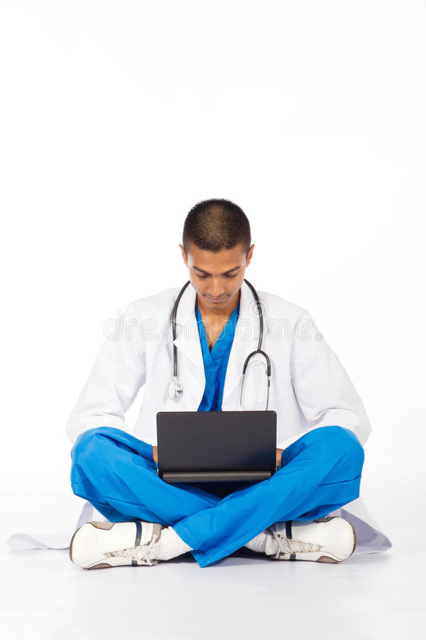 Indian Medical Intern Royalty Free Stock Photography