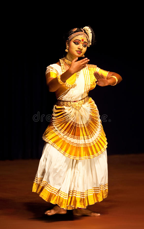 Download Indian Mohinyattam Dance editorial photography. Image of emotion - 24532152