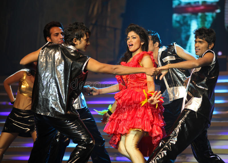 Indian Music and Dance Show royalty free stock photography