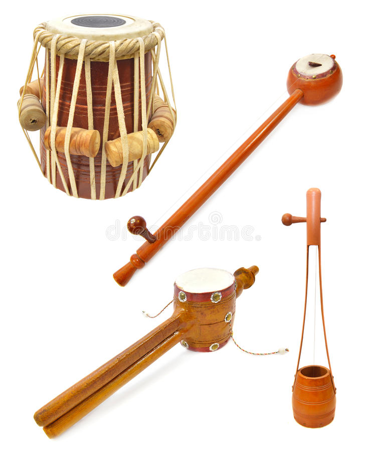 Free Indian Musical Instruments Stock Photos - 43692053