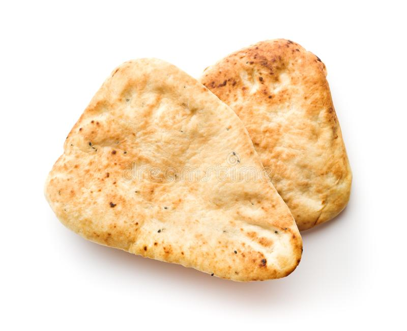 Indian naan bread stock photography