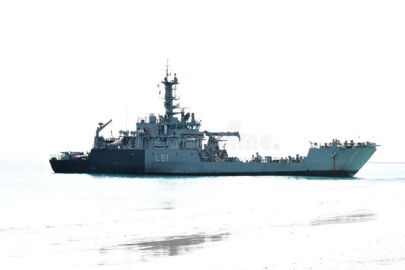 Indian Navy Ship Andaman Nikobar Islands royalty free stock photography