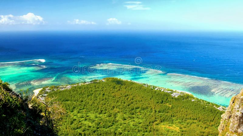 Exotic Mauritius Island, Scenic View royalty free stock image