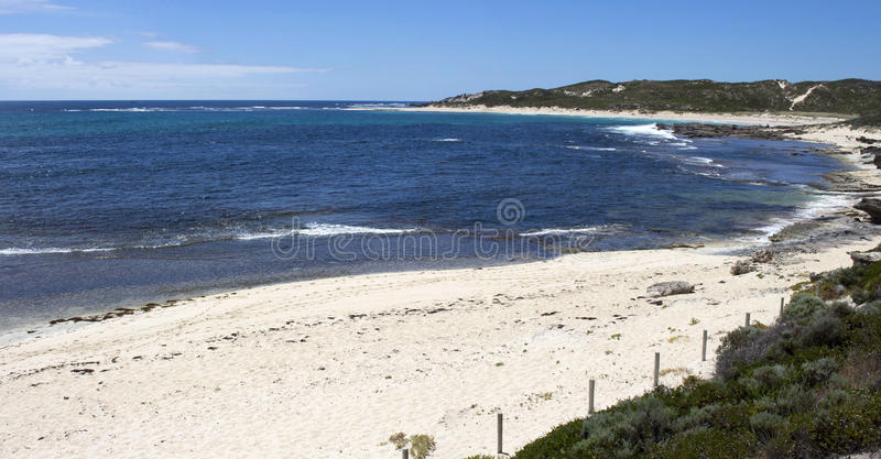 Indian Ocean at Margaret River Western Australia in early summer stock photos