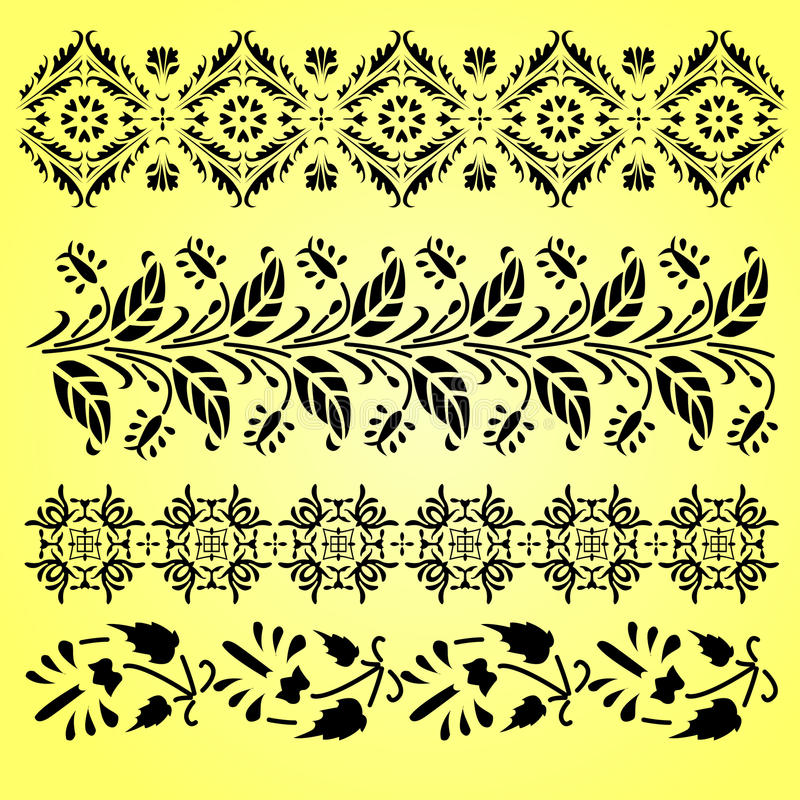 Indian Ornaments Royalty Free Stock Photos