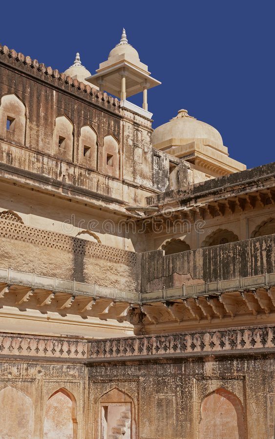 Indian palace. It's a photo of an Indian palace royalty free stock photos