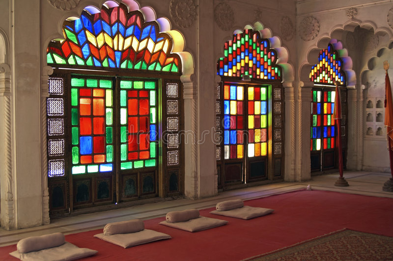 Indian Palace stock images