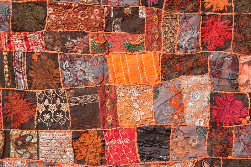 Download Indian patchwork carpet stock photo. Image of colour - 29038480