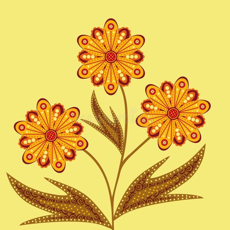 Download Indian pattern stock illustration. Illustration of design - 27872739