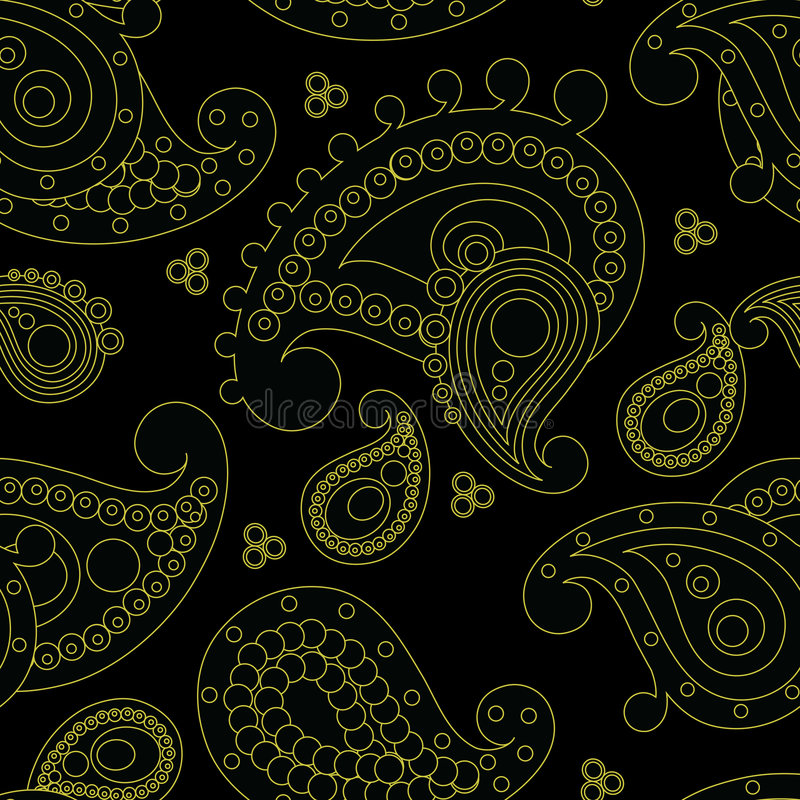 Download Indian pattern stock vector. Illustration of design, baroque - 8241810