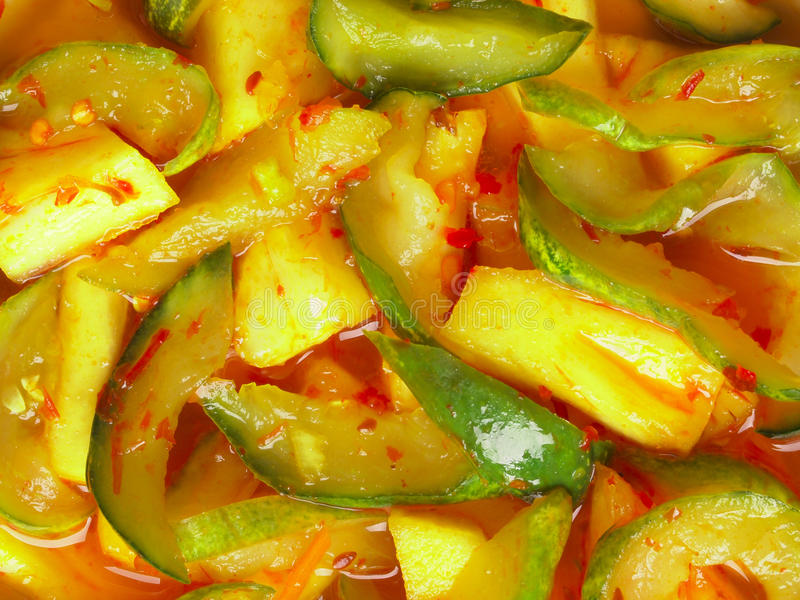Indian picked vegetables achar royalty free stock photography