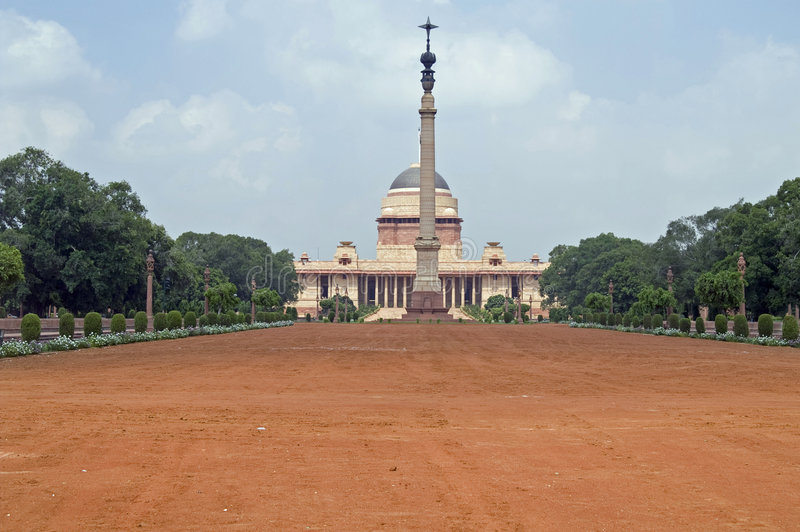 Indian Presidents House stock images