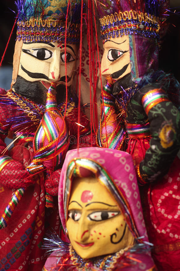 Download Indian puppets stock photo. Image of indian, colourful - 14198514