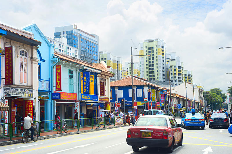 Download Indian Quarter In Singapore Editorial Photo - Image: 36793681