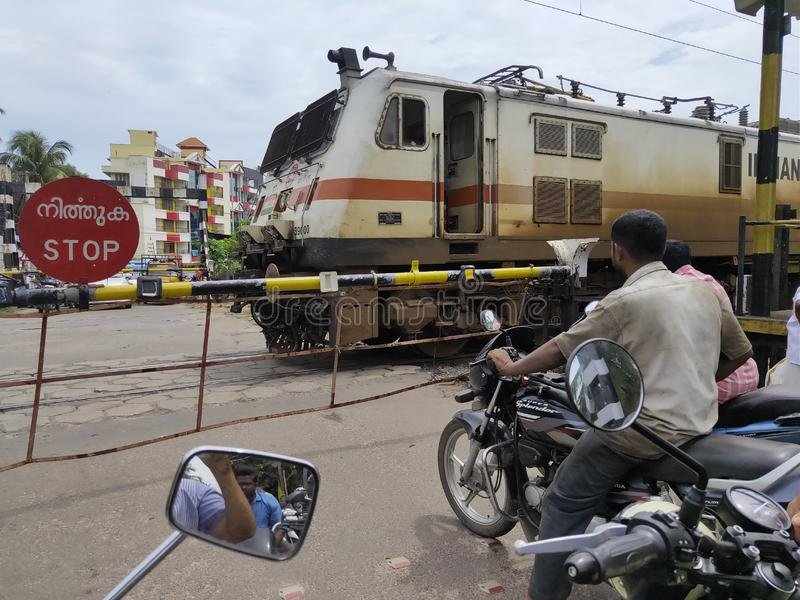 Indian railway royalty free stock photography