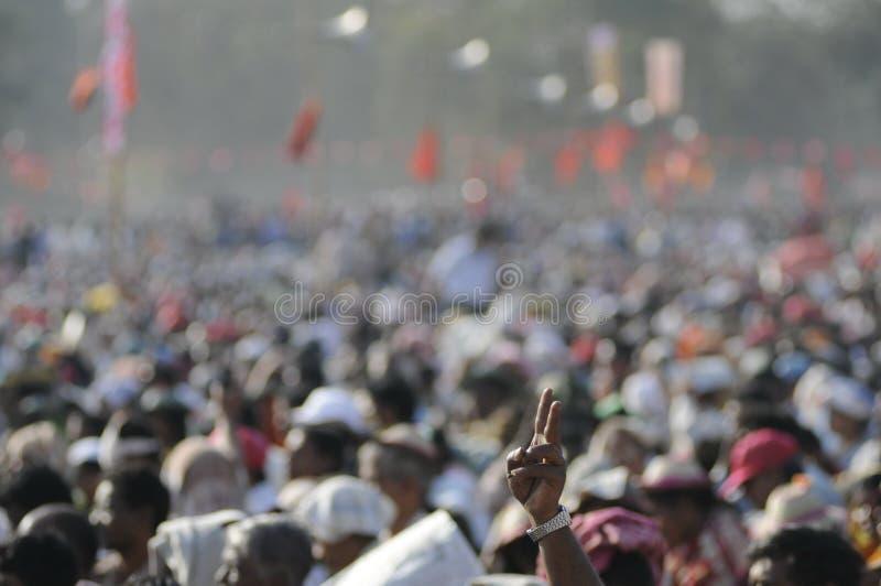 Indian Rally royalty free stock photos