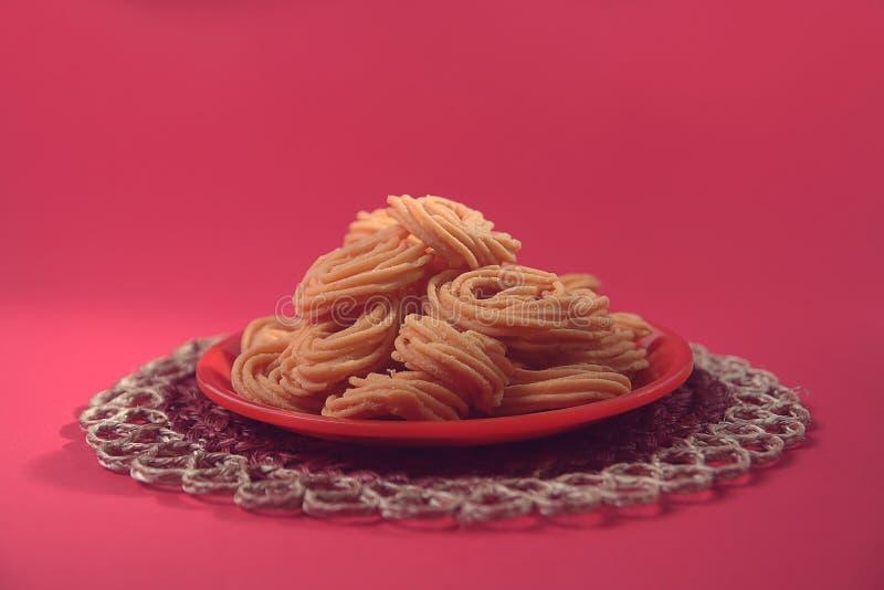 Indian Recipe Murukku royalty free stock photo