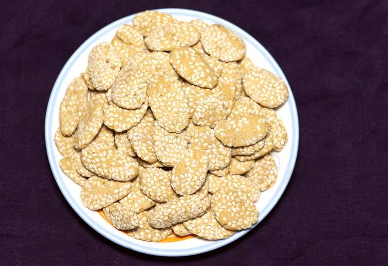 Indian Rewari sweet royalty free stock photo