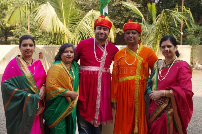 Indian royal family royalty free stock photos