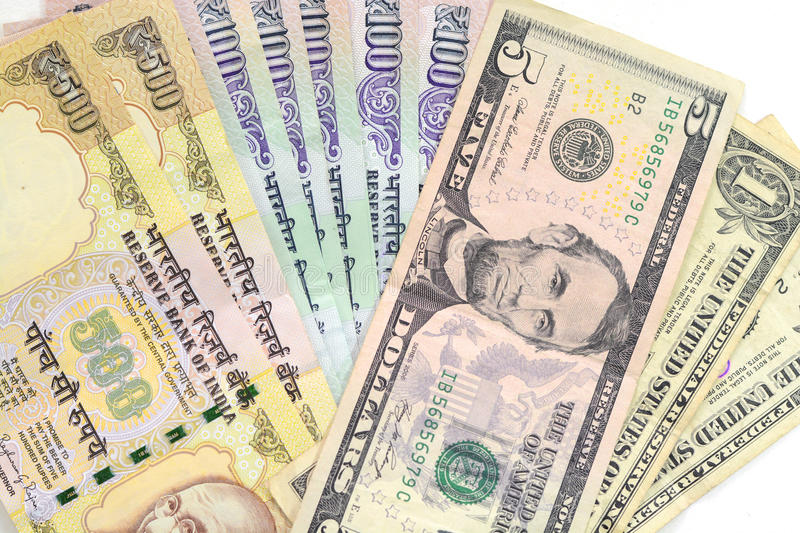 Indian Rupee Currency royalty free stock image