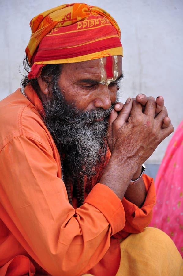 Download Indian sadhu editorial stock image. Image of sadhu, beared - 20833319