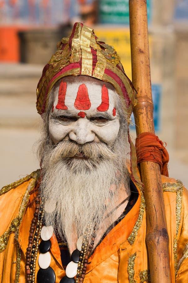 Download Indian Sadhu (holy Man). Varanasi, Uttar Pradesh, India. Editorial Image - Image: 34140280