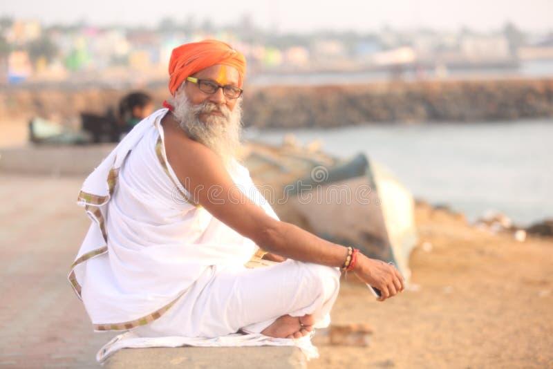 Indian saint stock photography