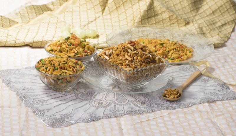 Mix Namkeen. Indian Salty Food Mix Namkeen Food royalty free stock photos