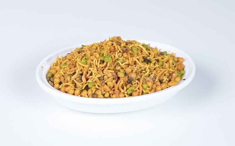 Mix Namkeen. Indian Salty food mix namkeen stock images