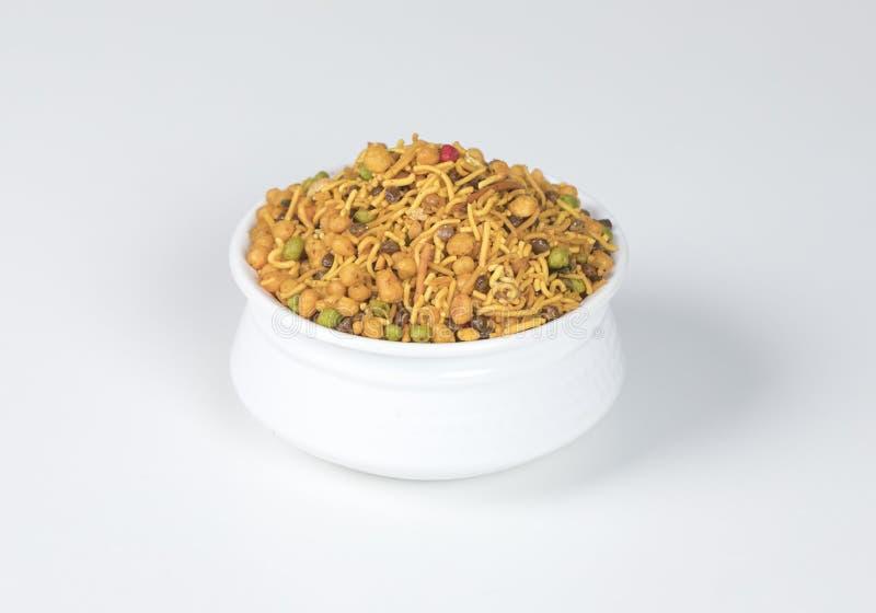 Mix Namkeen. Indian Salty food mix namkeen royalty free stock photos